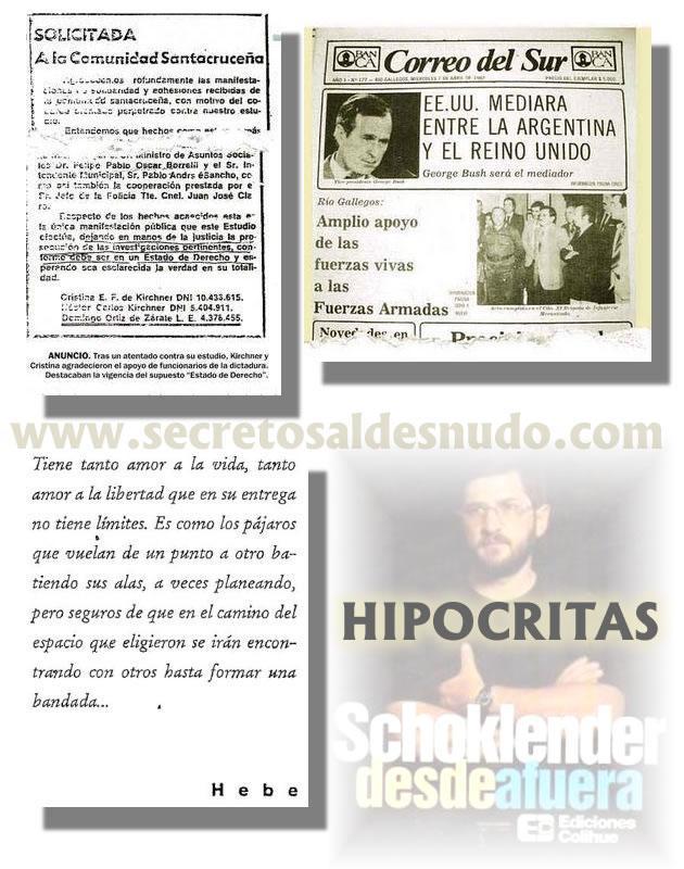 Los Kirchner apoyaron al proceso mediante una solicitada.