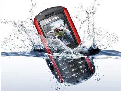 Solución para celulares mojados.