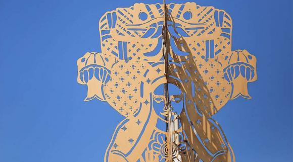 Arzobispo Emérito de Guadalajara denuncia una escultura blasfema que ofende lo más sagrado que