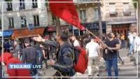 Hordas de izquierdistas atacan procesión en Francia